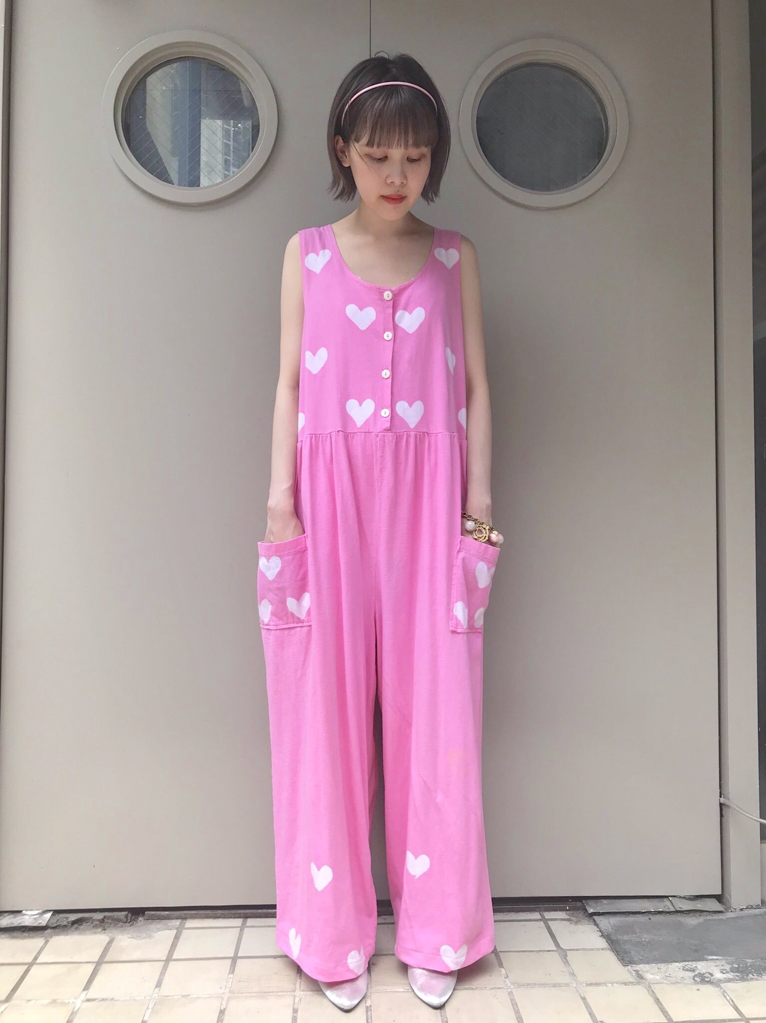 【SALE】many heart rompers