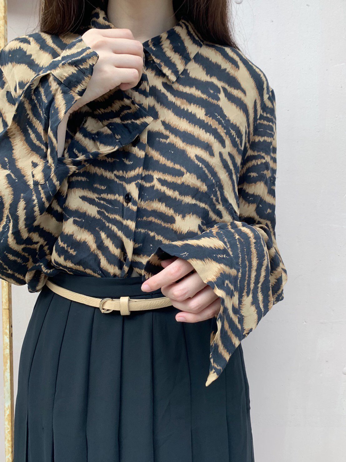 tiger silk shirt