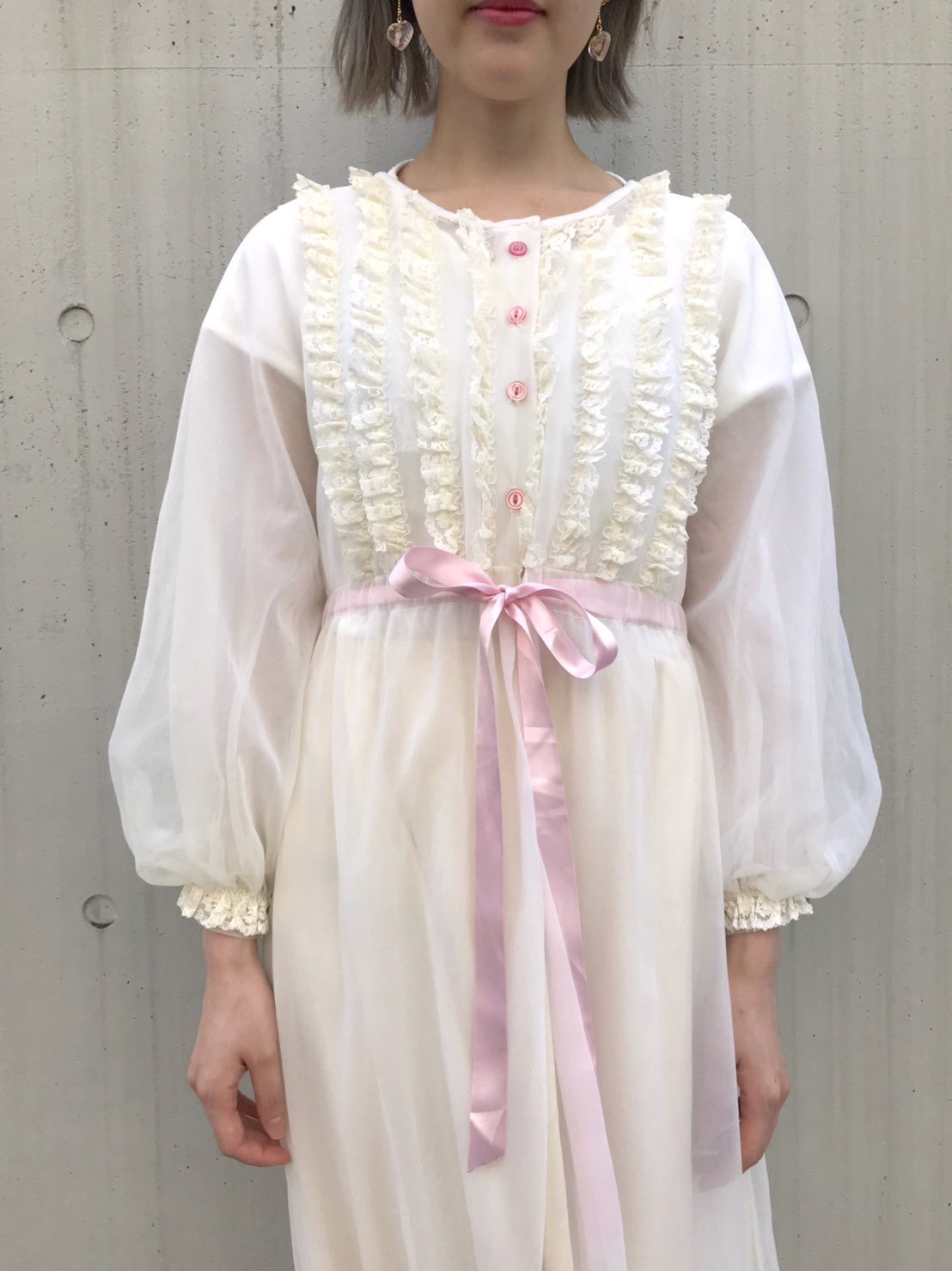 strawberry milk lingerie gown