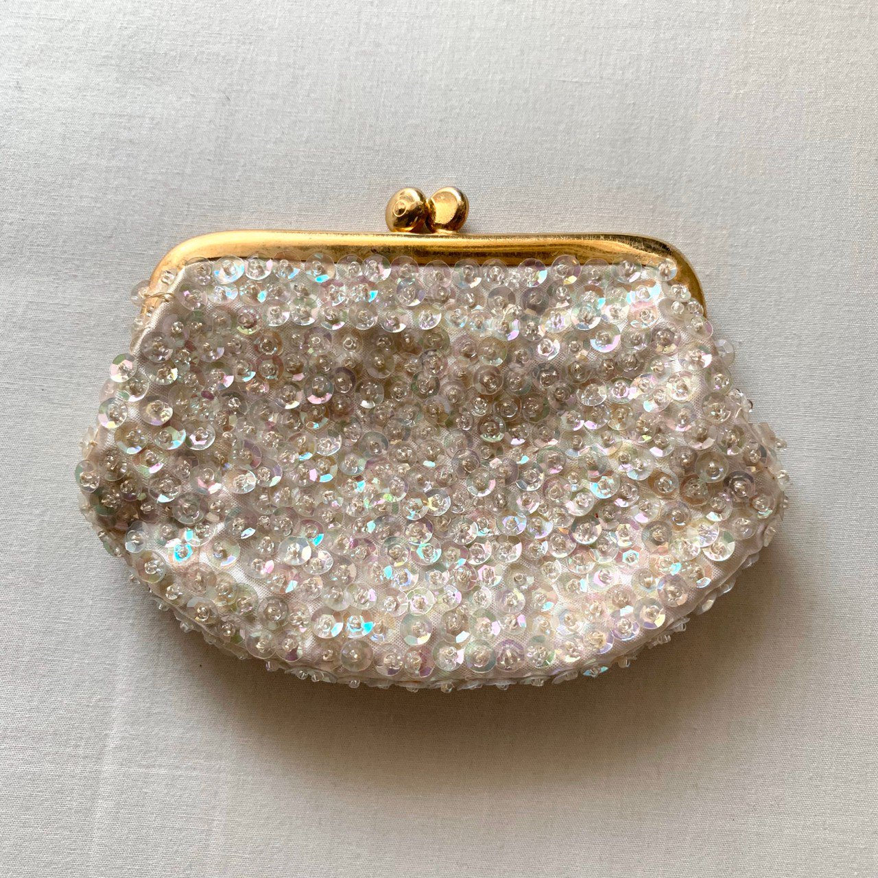 spangle mini pouch