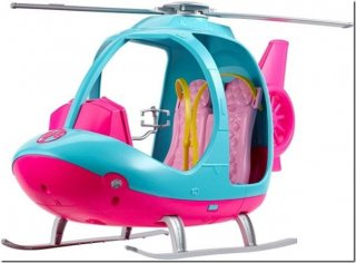 Barbie Travel Helicopter