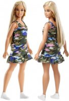 Barbie Fashionistas Girly Camo Doll