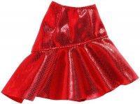 Barbie  Fashion Clothing Mini Skirts 赤いラメ