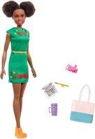 Barbie Travel Nikki Doll Kitty Ear Brunette Hair
