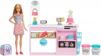 Barbie Cake Decorating Playset with Blonde Doll