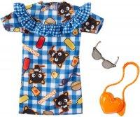 Hello Kitty Chococat Blue Plaid Dress