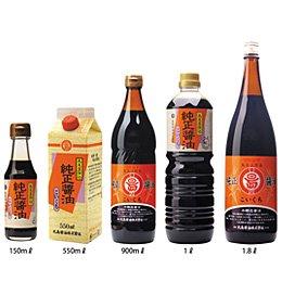 純正醤油(濃口) 550ml
