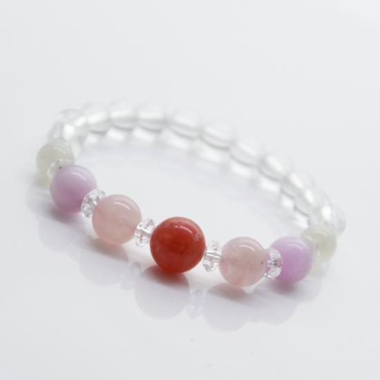 【結婚運】薔薇色の結婚をロードクロサイト&ローズクォーツ