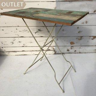 【OUTLET品】フォールディング テーブル L / ボート 古材