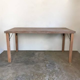 ダイニングテーブル 古材天板 長方-1500 /チーク2色 送料無料【SDGs】(OTB-016)