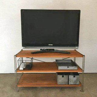【X'mas SALE対象品】アイアン シェルフ -C テレビ台 W880xH470mm【送料無料】(IFN-13)<img class='new_mark_img2' src='https://img.shop-pro.jp/img/new/icons24.gif' style='border:none;display:inline;margin:0px;padding:0px;width:auto;' />