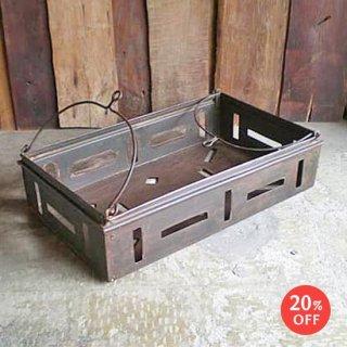 アイアン 揺りかご ハンギング ボックス / ビンテージ