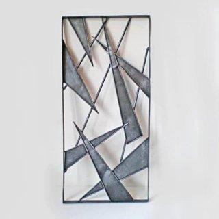 アイアン製 窓格子 ウィンドウグリル 280x600mm(パターン04)