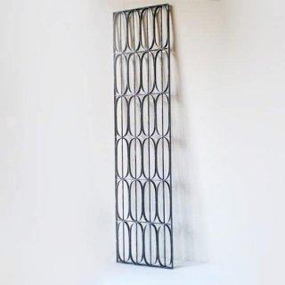【受注生産品】アイアン製 窓格子 ウィンドウグリル 280x1200mm パターン06 (IGR-06)