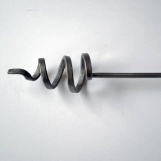 カーテンポール スパイラル - 900 アイアン製