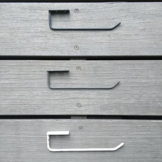 【再入荷】アイアン タオルハンガー / 鉄 3色  -170mm  (OIR-078) 《メール便可》