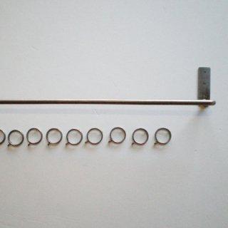 アイアン カーテンポール / カーテンレール ワンピース-1000 (PRT-208-M)