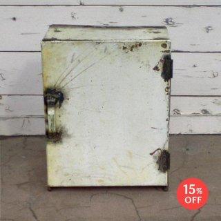 【SPLASH SALE!!】ウォールシェルフ ドア付き ドラム缶 再利用材 6色 【SDGs】(KMN-086)