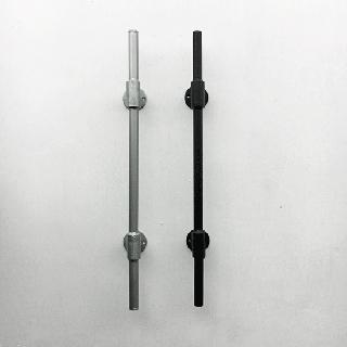 アイアン パイプ ドアハンドル 水道管-B550