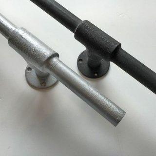 アイアン パイプ ドアハンドル 水道管-B700 (PRT-324)