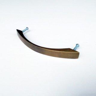 ハンドル 取手 真鍮 ブラス / 流線形タイプ-M 137mm (JB-053) 《メール便選択可》