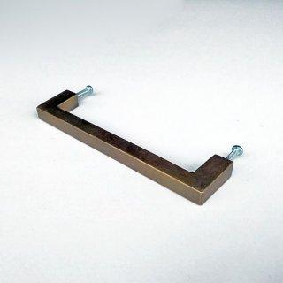 【再入荷】ハンドル 真鍮 ブラス / 角タイプ-M 135mm (JB-055) 《メール便可》