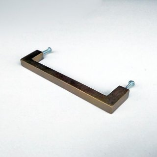 ハンドル 真鍮 ブラス / 角タイプ-M 135mm (JB-055) 《メール便可》