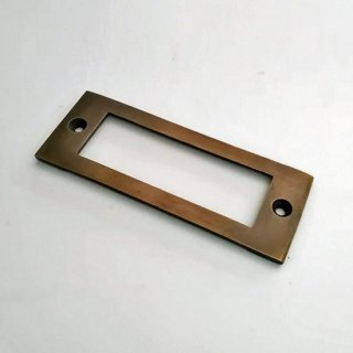 【再入荷】ネームプレート 引出用 名札 真鍮 -80mm(JB-059)