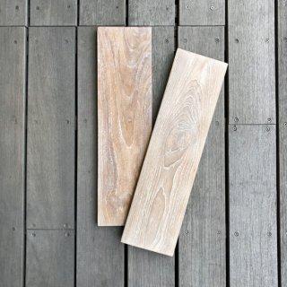 チーク ボード - 550mm ウォッシュド ホワイト / 棚板 (WD-011W)