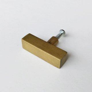 【再入荷】ハンドル 取手 真鍮 ブラス / 長方 40mm (JB-005) 《メール便選択可》