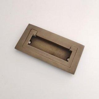 【再入荷】ハンドル 取手 真鍮 ブラス / 角型 85x42mm (JB-015) 《メール便選択可》