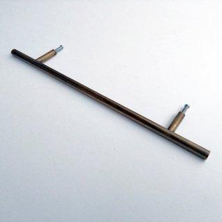 ドア ハンドル 取手 真鍮 ブラス / 丸棒 300mm (JB-023) 《メール便選択可》
