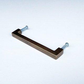 【再入荷】ハンドル 取っ手 真鍮 ブラス / 角タイプ-S 100mm (JB-033) 《メール便選択可》