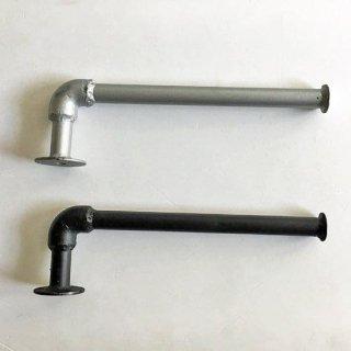トイレットペーパーホルダー(M) 2個用 /アイアン インダストリアル 水道管 -300mm(PRT-322)