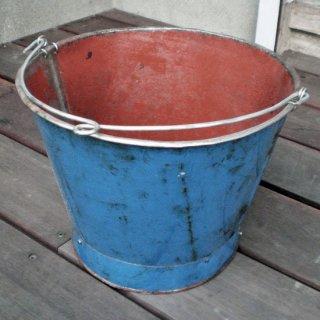 バケツ リサイクルアイアン素材 カラー2色 (KMN-045)