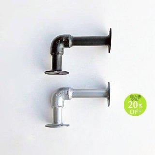 【新価格】棚受け ブラケット アイアン 水道管 (S) 90x130mm (PRT-031)