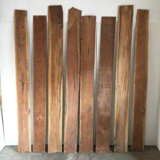 古材 チーク 壁板 装飾用-E 2000mm程度 (WD-105)