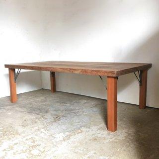 【セットプライス】センターテーブル 古材天板 +木とアイアン脚 -1500x780mm 送料無料(IFS-03)