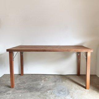 【セットプライス】ダイニングテーブル 古材天板 +木とアイアン脚 -1500 送料無料(IFS-05)