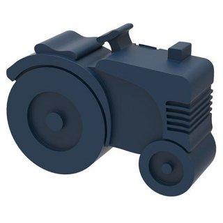 【BLAFRE】 ブラフレ/トラクター型ランチボックス ダークブルー