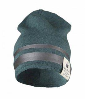 【Elodie Details】エロディーディテールズ/ラインビーニー帽/1-3歳用/GILDED PETROL ブルー