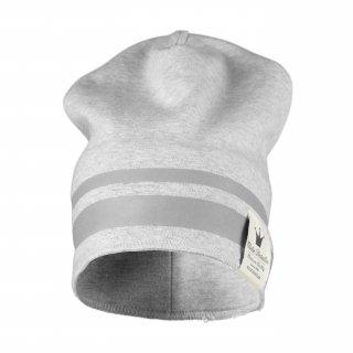 【Elodie Details】 エロディーディテールズ/ラインビーニー帽/1-3歳用/GILDED GREY グレー