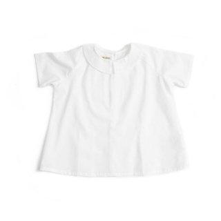【AS WE GROW】 アズ ウィ グロウ/襟付きブラウス/Ork shirts ホワイト