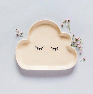 【Bloomingville】ブルーミングヴィル/雲形プレート(陶器)