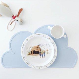 【KG DESIGN】 ケージーデザイン/雲形シリコン製クラウドランチョンマット ブルー