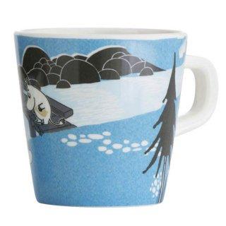 【ムーミン/Ratt Start】ムーミン谷のマグカップ(ブルー)