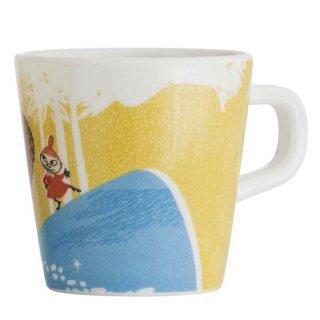 【ムーミン/Ratt Start】ムーミン谷のマグカップ(イエロー)
