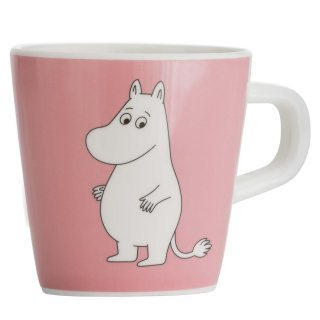 【ムーミン/Ratt Start】ムーミンマグカップ(ピンク)