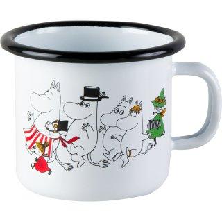 【ムーミン / muurlaムールラ】ホーローマグカップ(ムーミン谷)