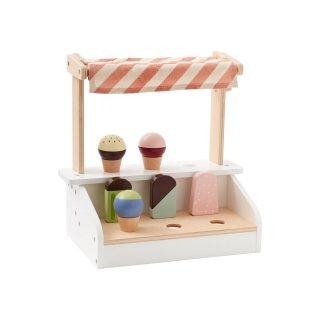 【Kids Concept】 キッズコンセプト/木製おままごとアイスクリームスタンド